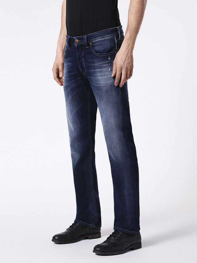 Diesel - Larkee 0860L, Dark Blue - Jeans - Image 7