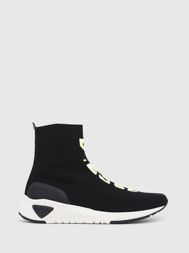 f3b7b4d2654c6 S-KB MID ATHL SOCK Men: Mid top sock sneakers with logo | Diesel