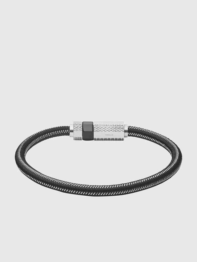 Diesel - DX1152, Black/Silver - Bracelets - Image 1