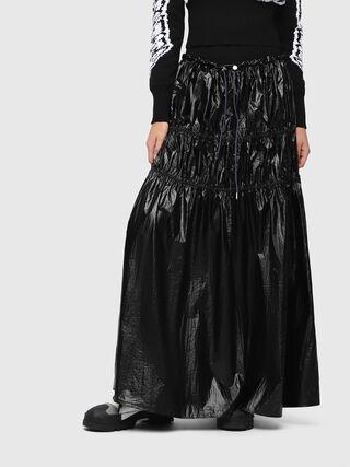 3fa0a90ed51 Tiered nylon maxi skirt