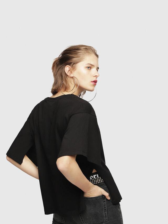 Diesel - T-JACKY-D, Black - T-Shirts - Image 2