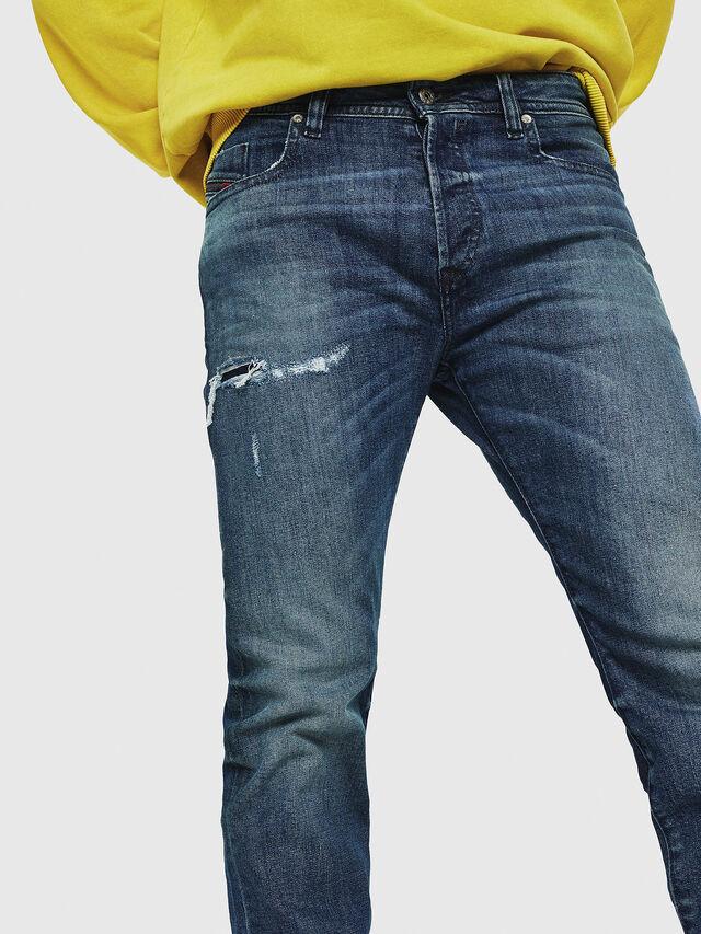 Diesel - Buster CN021, Medium Blue - Jeans - Image 3