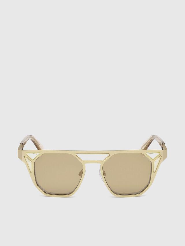 Diesel - DL0249, Gold - Sunglasses - Image 1