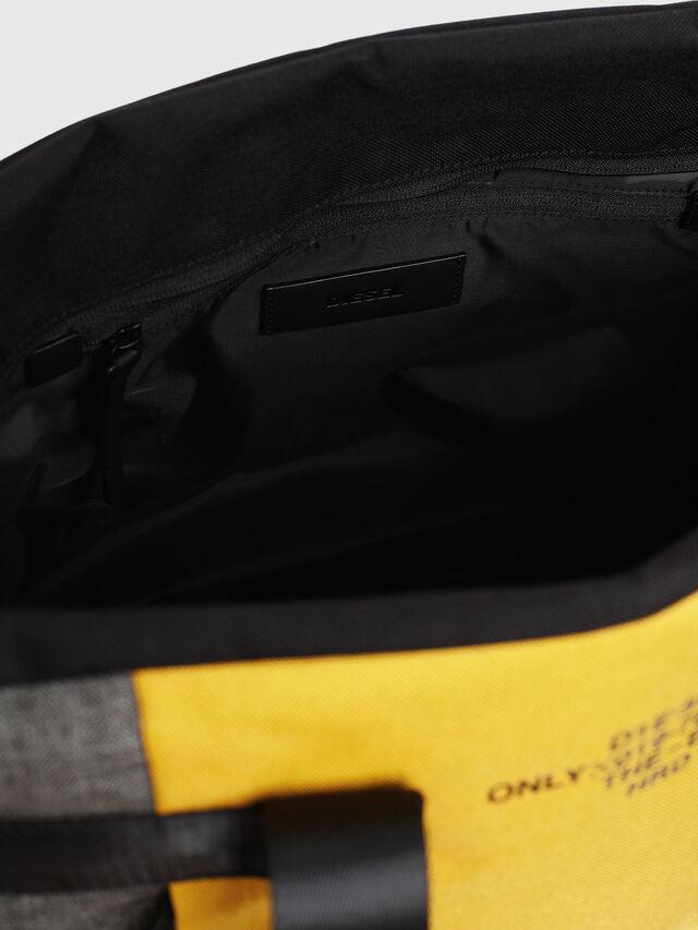 Diesel - SOLIGO, Black/Yellow - Travel Bags - Image 5