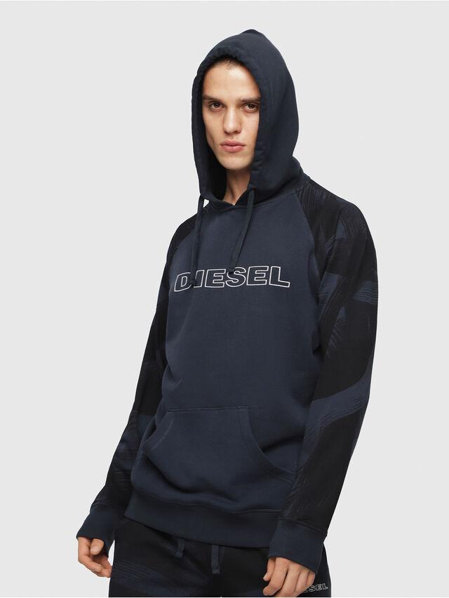 Diesel - UMLT-BRIAN, Blue - Sweatshirts - Image 1
