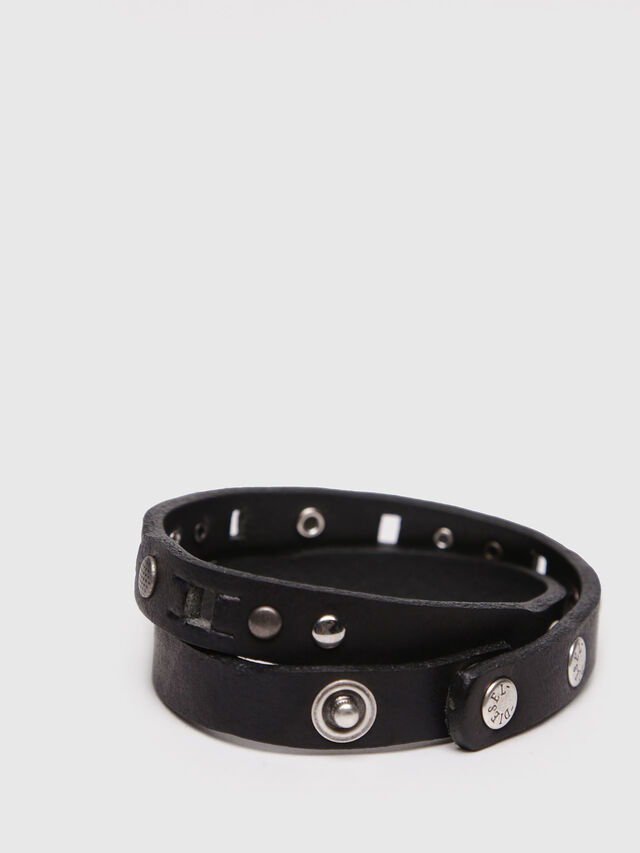 Diesel - A-WANNINA, Black Leather - Bijoux and Gadgets - Image 2