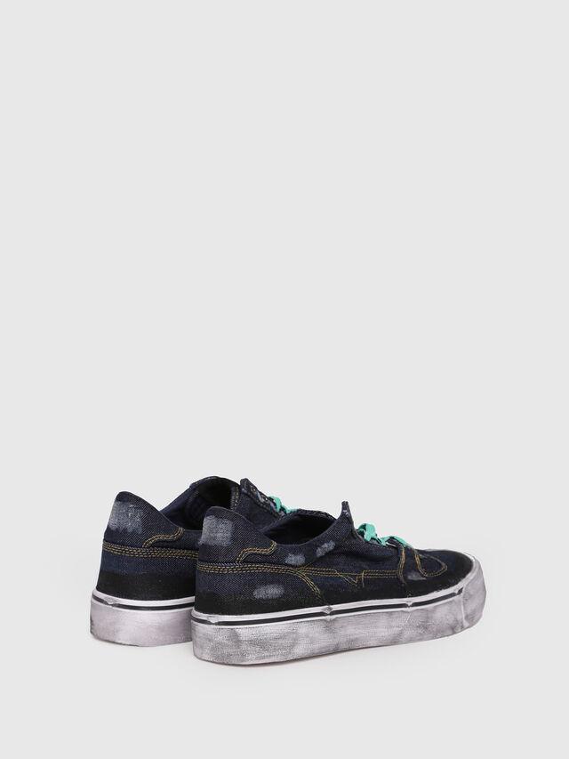Diesel - S-FLIP LOW, Dark Blue - Sneakers - Image 3