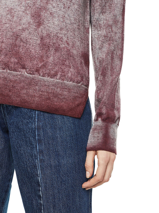 Diesel - MESULF, White/Red - Sweaters - Image 3