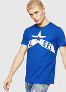 T-DIEGO-A7, Brilliant Blue - T-Shirts