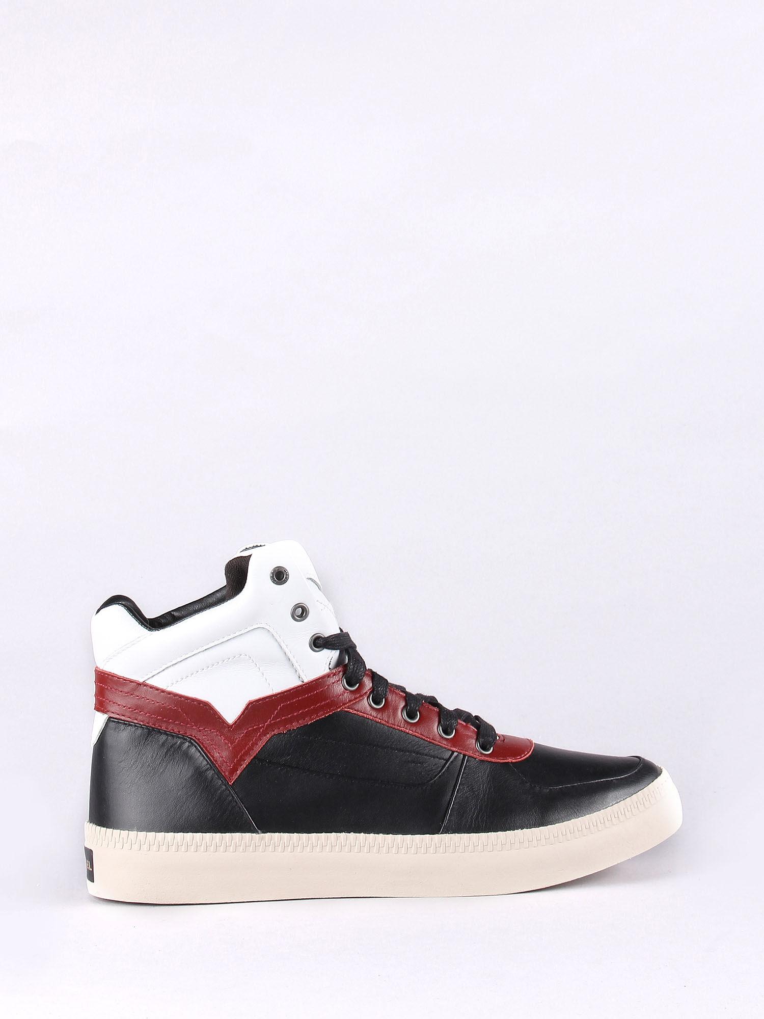 Diesel S-Spaark Leather High-Top Sneaker kSuU0yqi