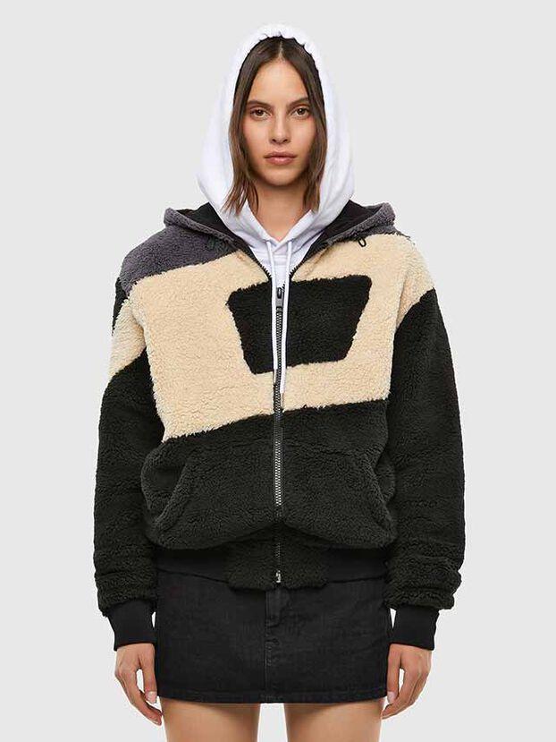 S-ALDY, White/Black - Sweatshirts