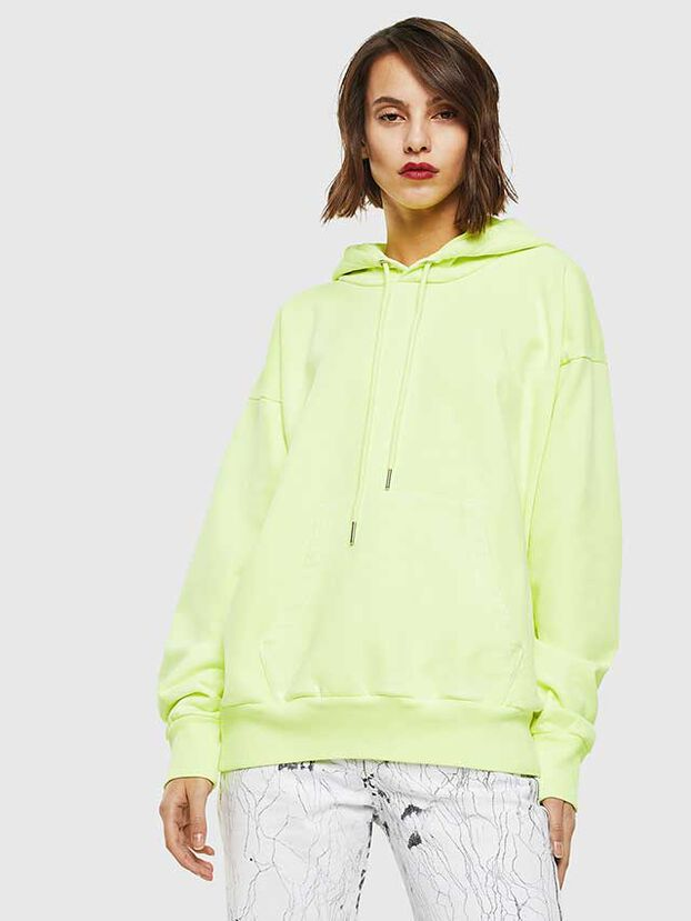 S-ALBY-FLUO, Yellow Fluo - Sweatshirts