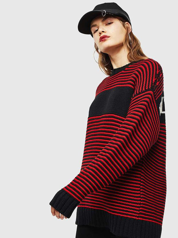 K-BALLIS, Red/Black - Sweaters