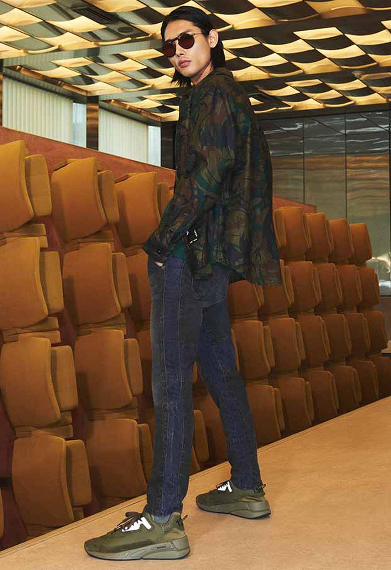 D-Slack 009KZ, Black/Dark Grey - Jeans