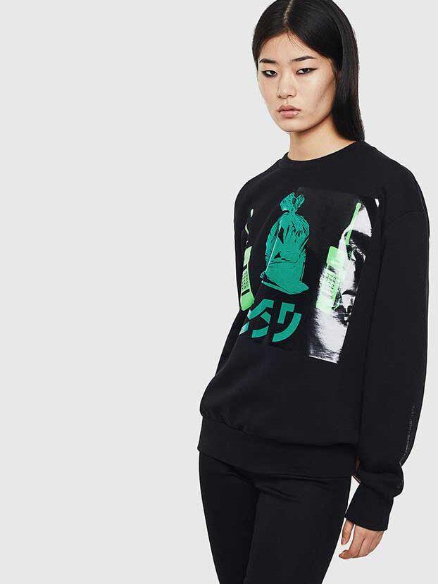 S-BIAY-S1, Black - Sweatshirts