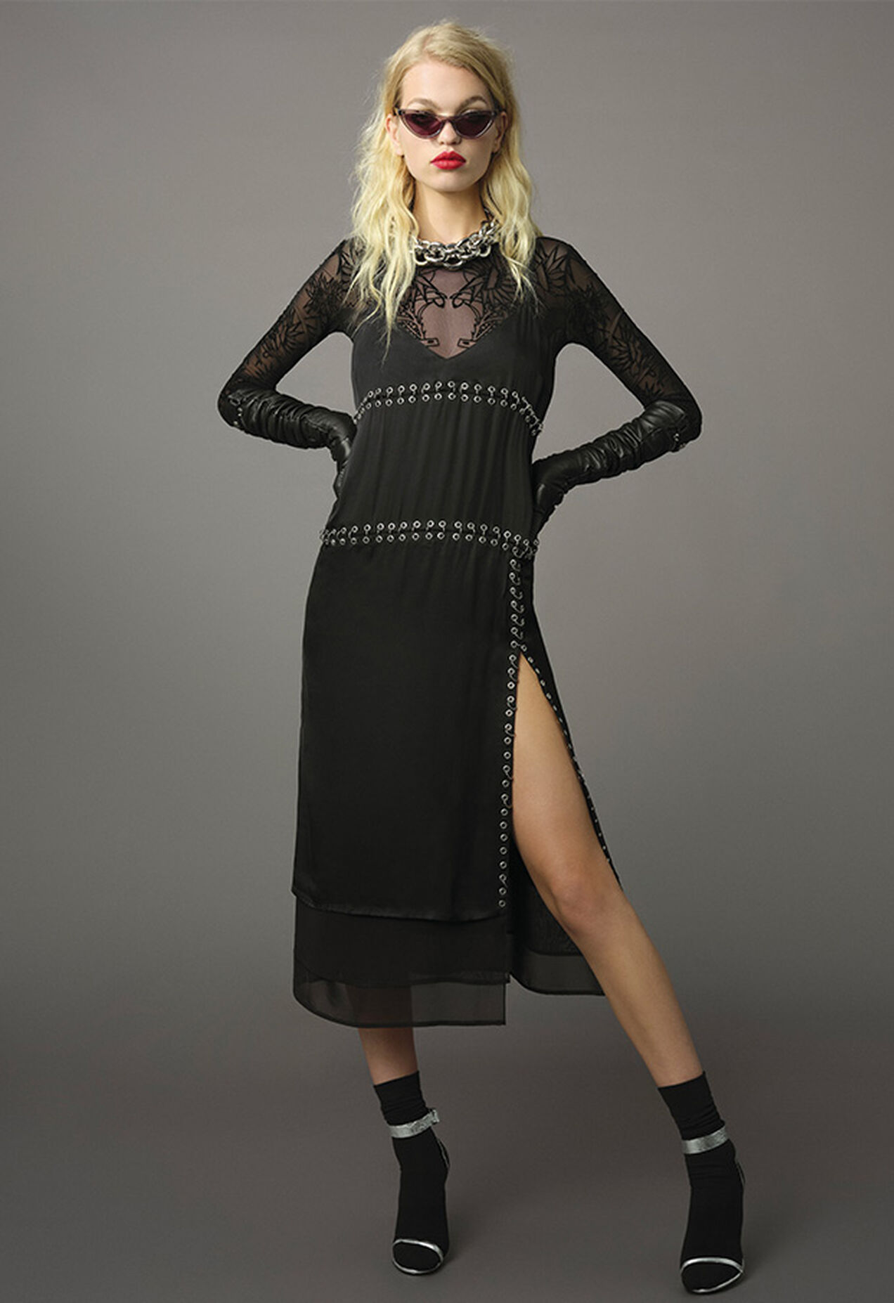 D-NAKIA, Black - Dresses