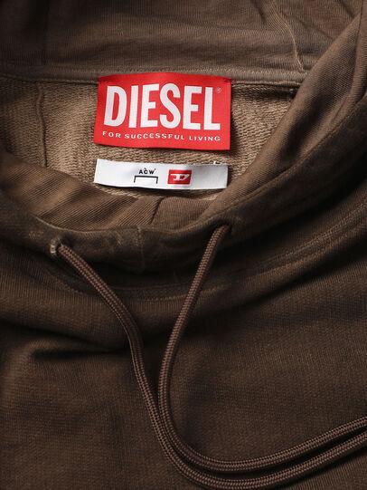 Diesel - ACW-SW02, Brown - Sweatshirts - Image 3