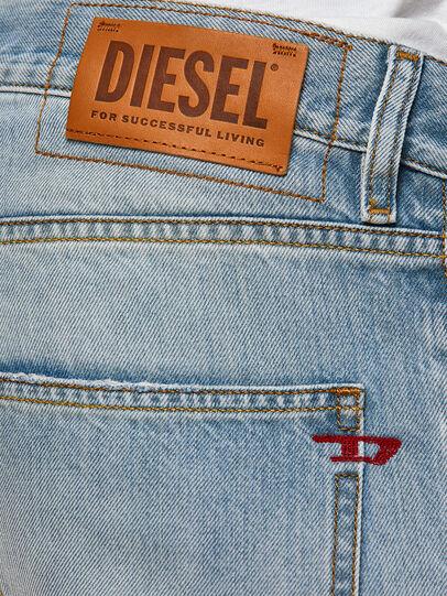 Diesel - D-Kras 009GZ, Light Blue - Jeans - Image 4