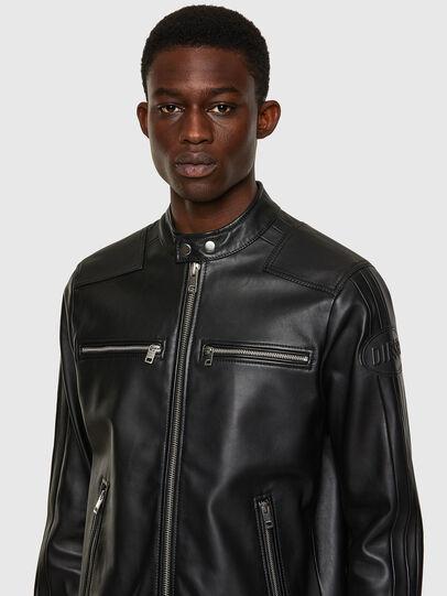 Diesel - L-BOY, Negro - Chaquetas de piel - Image 4