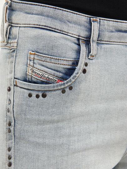 Diesel - Babhila 009JL, Light Blue - Jeans - Image 3