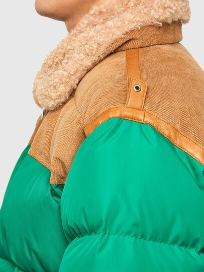 Diesel - W-EVAN-A, Green - Winter Jackets - Image 3