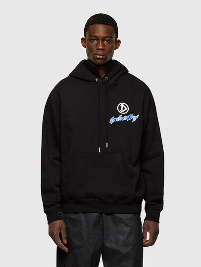 Diesel - S-UMMER-E4, Black - Sweatshirts - Image 1