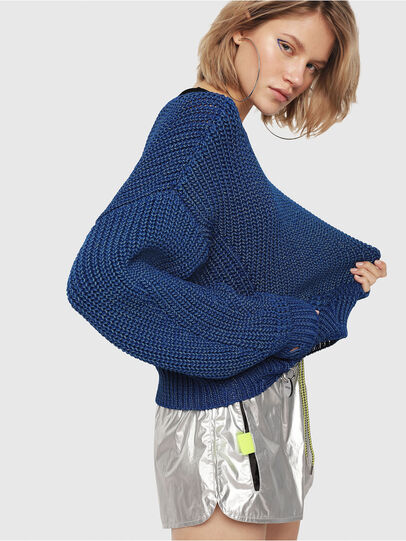 Diesel - M-BABI, Brilliant Blue - Sweaters - Image 3