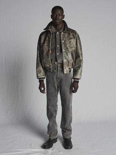 Diesel - DxD-P2 0CBBH, Black/Dark Grey - Jeans - Image 5