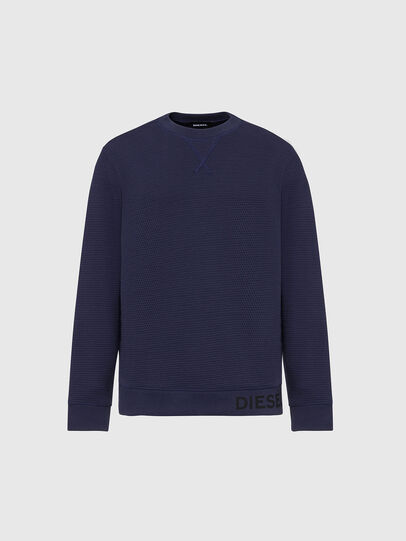 Diesel - S-PEWTER, Dark Blue - Sweatshirts - Image 1