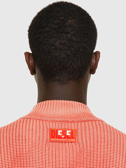 Diesel - K-KENTUCKY ZIP, Pink - Sweaters - Image 4