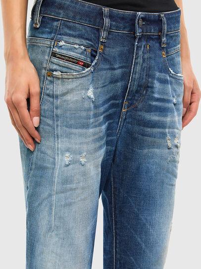 Diesel - Fayza 009LF, Medium Blue - Jeans - Image 4