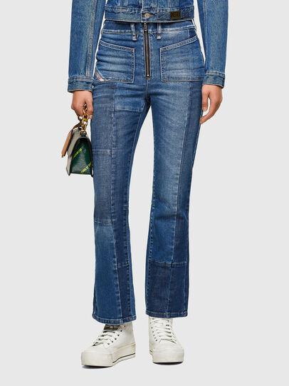 Diesel - D-Earlie Bootcut Jeans 009NP, Medium Blue - Jeans - Image 1