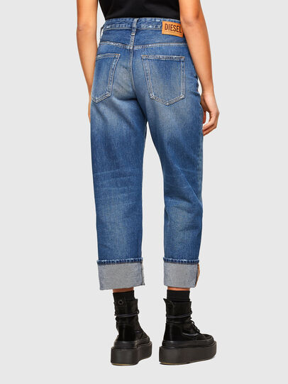 Diesel - D-Reggy Straight Jeans 009RV, Medium Blue - Jeans - Image 2