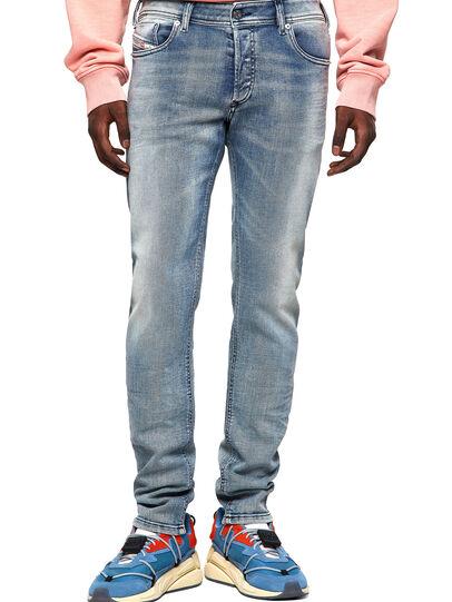 Diesel - Sleenker Skinny Jeans 009KL, Medium Blue - Jeans - Image 1