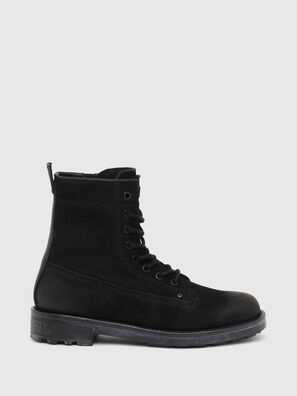 D-THROUPER DBB ZC W, Black - Ankle Boots
