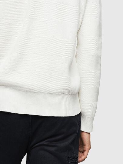 Diesel - K-STLE, White - Sweaters - Image 4