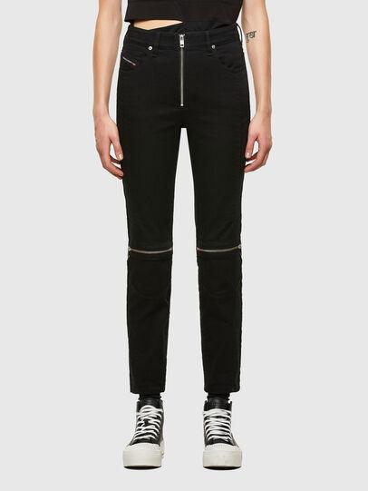 Diesel - D-Joy Slim Jeans 0688H, Black/Dark Grey - Jeans - Image 1