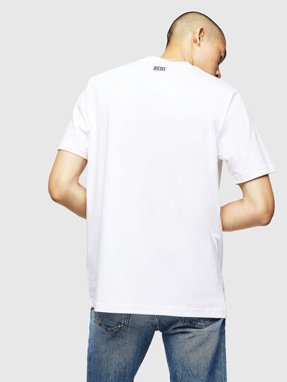 Diesel - T-JUST-BX1, White - T-Shirts - Image 2
