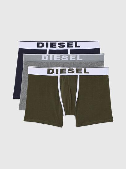 Diesel - UMBX-SEBASTIANTHREEP, Blue/Green - Boxer briefs - Image 1