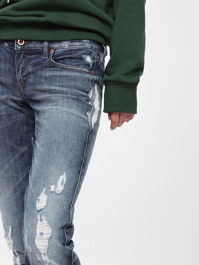 Diesel - Gracey JoggJeans 084YH, Medium Blue - Jeans - Image 3