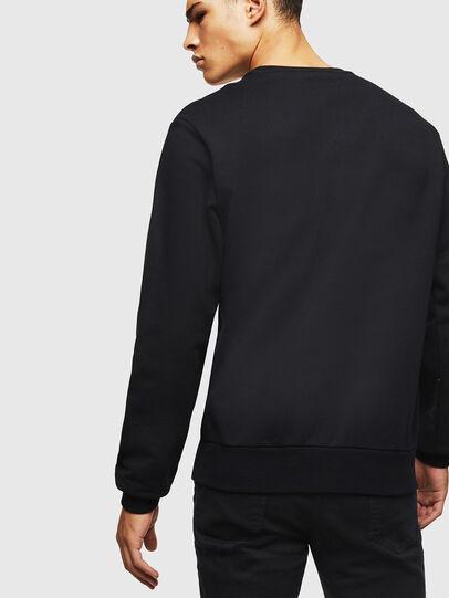 Diesel - S-GIRK-J2, Black - Sweatshirts - Image 2