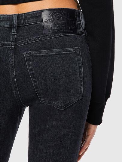 Diesel - Babhila Slim Jeans 09A67, Black/Dark Grey - Jeans - Image 3