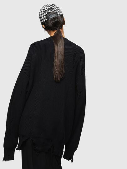 Diesel - M-JENNY, Black - Sweaters - Image 2