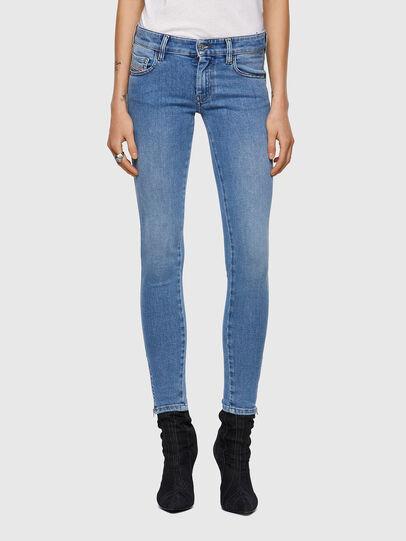 Diesel - Slandy Low Skinny Jeans 009ZY, Light Blue - Jeans - Image 1