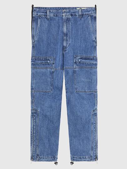 Diesel - D-Luks 009CL, Light Blue - Jeans - Image 1