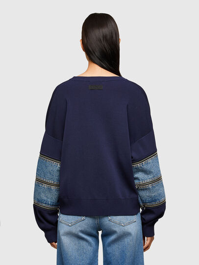 Diesel - M-AQUAMARINE, Blue - Sweaters - Image 2