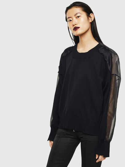 Diesel - MOLLYS, Black - Sweaters - Image 1