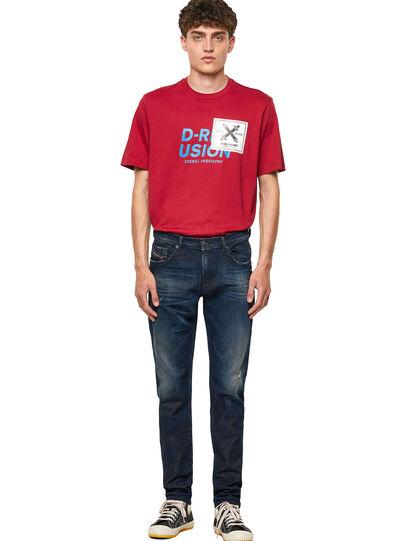 Diesel - D-Strukt Slim JoggJeans® 09B50, Dark Blue - Jeans - Image 5