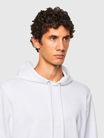 Diesel - S-GIRPO-HOOD, White - Sweatshirts - Image 3