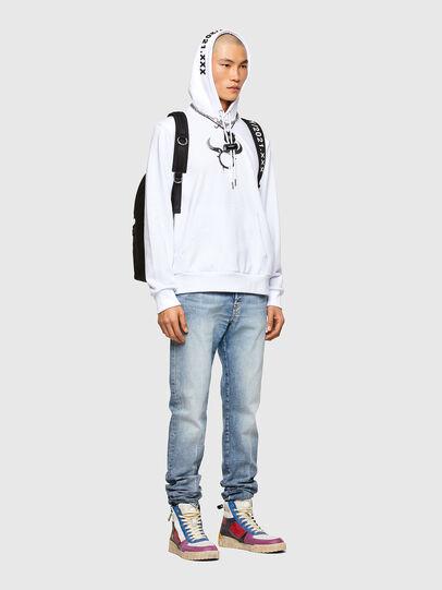 Diesel - CL-S-GIRK-HOOD-O, White - Sweatshirts - Image 5